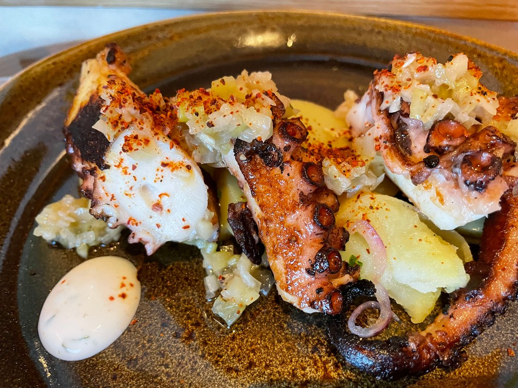 Grilled Pulpo