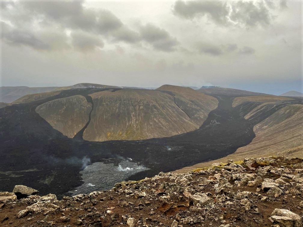 Mt. Fagradalsfjall Volcano